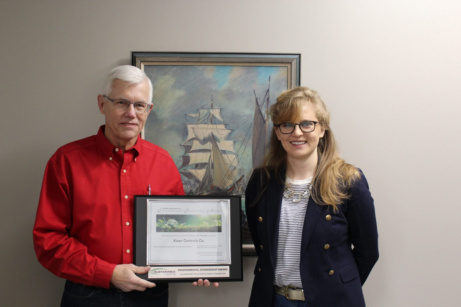 Kiser wins environmental award