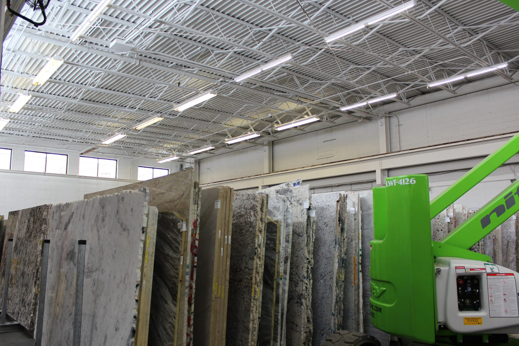 Marmo Stone LEDs install