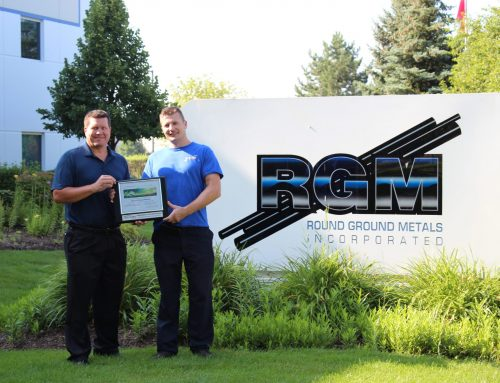 Round Ground Metals awarded Environmental Stewardship Award for LED Lighting project