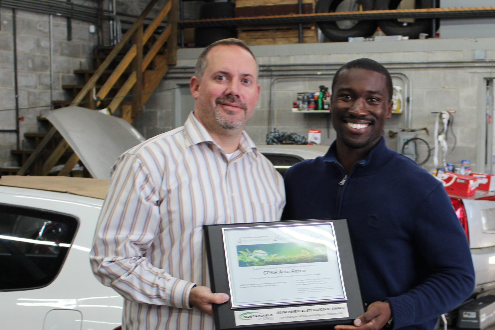 CP&R Receives Green Award